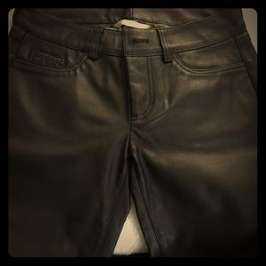 Leather pant lot